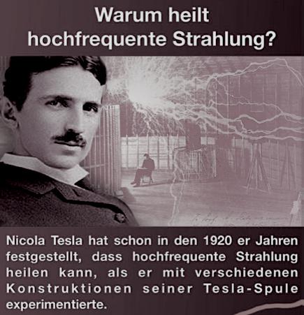 Teslas MED BED´s und Frequenz Heilung…